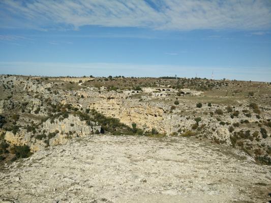 Uno scorcio del Parco della Murgia Materana