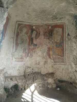 Una chiesa rupestre nel Parco della Murgia Materana