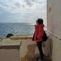 Vista mare dal faro di Otranto