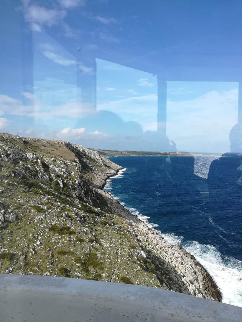 Vista dalla lanterna del faro di Otranto